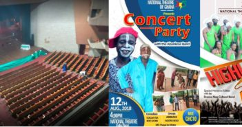 Latest events at the National Theatre in Accra
