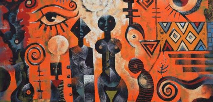 Wiz Kudowor art Retrospective at the Ano, Berj and Artist Alliance gallaries Accra