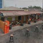 Outside Duncan's Pub in Osu, restaurants in osu, Accra, 20 places to eat in Accra