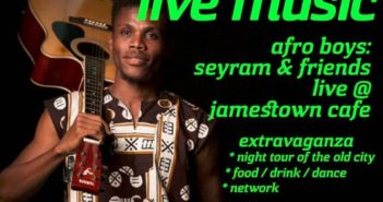 Bashment Live Music Friday @ the Jamestown Cafe 3rd May to 17th 2019
