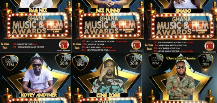 Ga-dangme and Ewe/Film and Movie Awards 2018