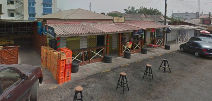 Do you want to experience a classic Ghanaian drink and chop spot?