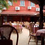 Alfresco seating @ Mamma Mia Pizzeria