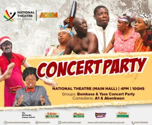 Latest events at the National Theatre Accra do not miss