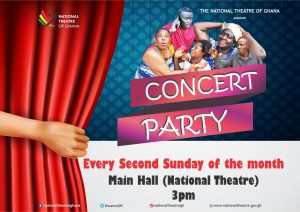 Concert Party at the National Theatre of Ghana
