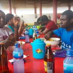 Eating at Asanka local in Accra, 20 places to eat in Accra